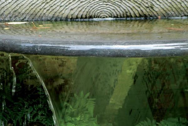 Philippe ongena fontaines d ext rieur en pierre bleue - Fontaine en pierre bleue ...